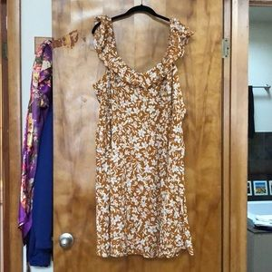 Old Navy Ruffled Floral Tank Dress NWT